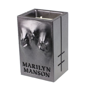 Bougie MARILYN MANSON - BLACK METALLIC - PLASTIC HEAD, PLASTIC HEAD, Marilyn Manson