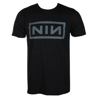 tee-shirt métal pour hommes Nine Inch Nails - CLASSIC GREY LOGO - PLASTIC HEAD, PLASTIC HEAD, Nine Inch Nails