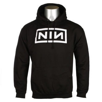 sweat-shirt avec capuche pour hommes Nine Inch Nails - CLASSIC WHITE LOGO - PLASTIC HEAD, PLASTIC HEAD, Nine Inch Nails