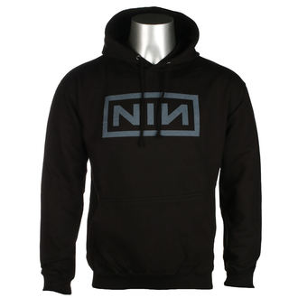 sweat-shirt avec capuche pour hommes Nine Inch Nails - CLASSIC GREY LOGO - PLASTIC HEAD, PLASTIC HEAD, Nine Inch Nails