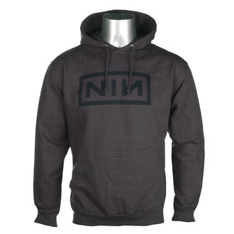 sweat-shirt avec capuche pour hommes Nine Inch Nails - CLASSIC BLACK LOGO - PLASTIC HEAD, PLASTIC HEAD, Nine Inch Nails