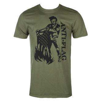 tee-shirt métal pour hommes Anti-Flag - Flag Burner Green - KINGS ROAD, KINGS ROAD, Anti-Flag