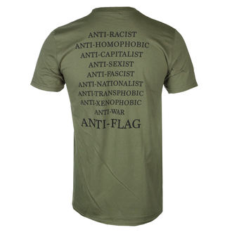 tee-shirt métal pour hommes Anti-Flag - Flag Burner Green - KINGS ROAD, KINGS ROAD, Anti-Flag