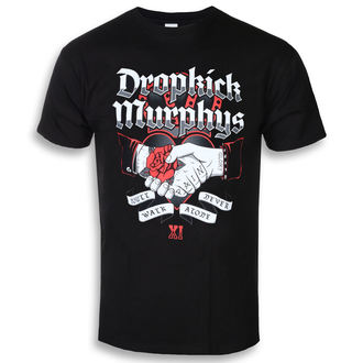 tričko pánské Dropkick Murphys - Handshake - Black - KINGS ROAD, KINGS ROAD, Dropkick Murphys