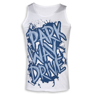 Débardeur homme Parkway Drive - Blue Logo - blanc - KINGS ROAD, KINGS ROAD, Parkway Drive