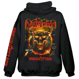 sweat-shirt avec capuche pour hommes Destruction - Under attack - NUCLEAR BLAST, NUCLEAR BLAST, Destruction