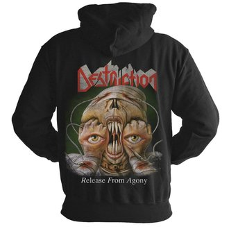sweat-shirt avec capuche pour hommes Destruction - Release from agony 30 years - NUCLEAR BLAST, NUCLEAR BLAST, Destruction