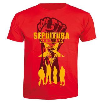 tee-shirt métal pour hommes Sepultura - Nation - NUCLEAR BLAST, NUCLEAR BLAST, Sepultura