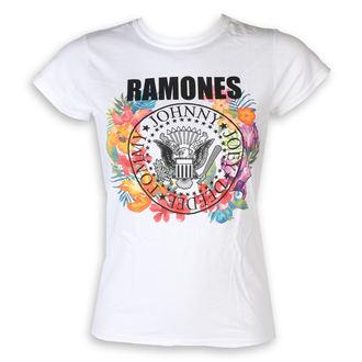 tee-shirt métal pour femmes Ramones - Circle Flowers - ROCK OFF, ROCK OFF, Ramones