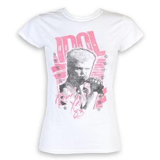 tee-shirt métal pour femmes Billy Idol - Rebel Yell - ROCK OFF, ROCK OFF, Billy Idol