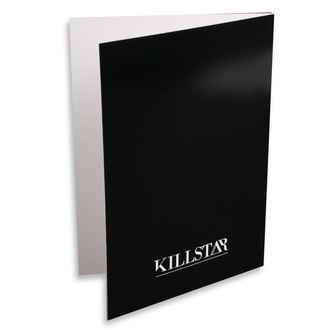 Carte de vœux KILLSTAR - Pisces - NOIR, KILLSTAR
