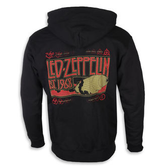 sweat-shirt avec capuche pour hommes Led Zeppelin - Zeppelin & Smoke Black - NNM, NNM, Led Zeppelin