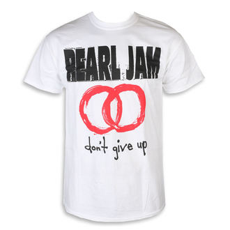 tee-shirt métal pour hommes Pearl Jam - Don't Give Up White - NNM, NNM, Pearl Jam