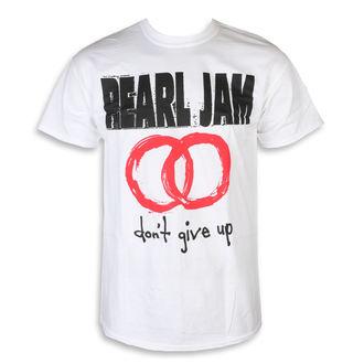 tričko pánské Pearl Jam - Don't Give Up White, NNM, Pearl Jam
