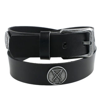ceinture Luciferi - Noir, Leather & Steel Fashion