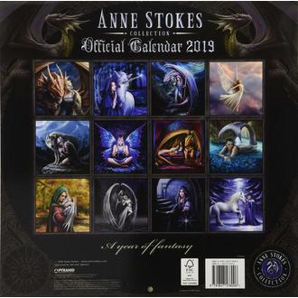 Calendrier 2019 ANNE STOKES, ANNE STOKES