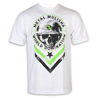 tee-shirt street pour hommes - SEAL WHT - METAL MULISHA, METAL MULISHA