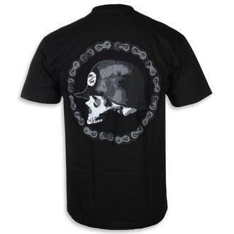 tee-shirt street pour hommes - CHAIN GANG BLK - METAL MULISHA, METAL MULISHA