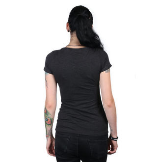 tee-shirt street pour femmes - IKON SCOOP BLK - METAL MULISHA, METAL MULISHA