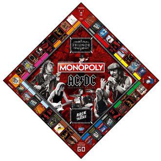 Jeu de plateau AC / DC - Monopoly