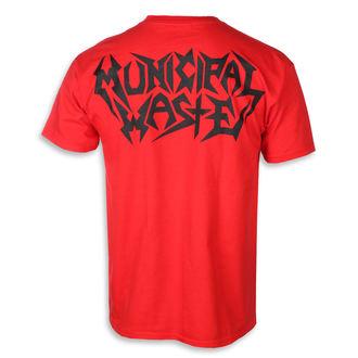 tee-shirt métal pour hommes Municipal Waste - Skelbot red -, Municipal Waste