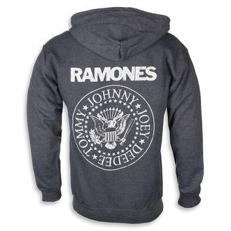 sweat-shirt avec capuche pour hommes Ramones - HEY HO LET'S GO - PLASTIC HEAD, PLASTIC HEAD, Ramones
