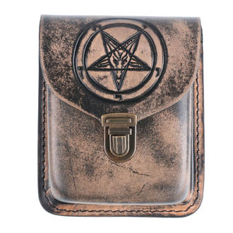 Poche de ceinture Baphomet, Leather & Steel Fashion