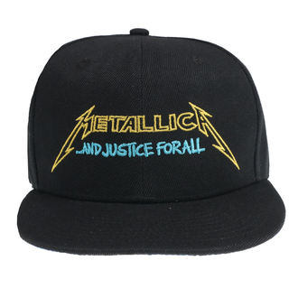 Casquette Metallica - Justice Bright Starter - Noir, NNM, Metallica