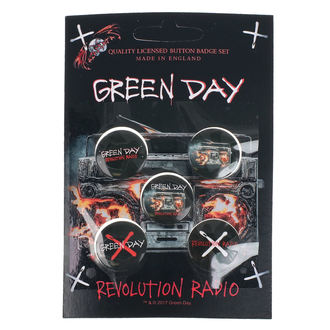 Badges Green Day - Revolution Radio - RAZAMATAZ, RAZAMATAZ, Green Day