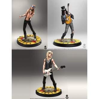 Ensemble de figurines Guns N' Roses - Band - Roche Iconz, KNUCKLEBONZ, Guns N' Roses