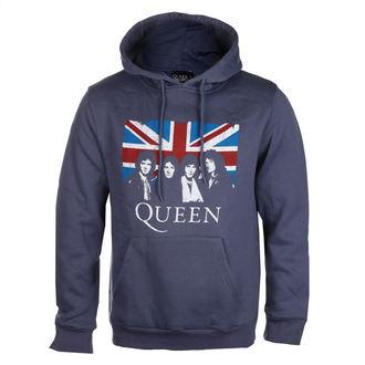 sweat-shirt avec capuche pour hommes Queen - Vintage Union Jack - ROCK OFF, ROCK OFF, Queen