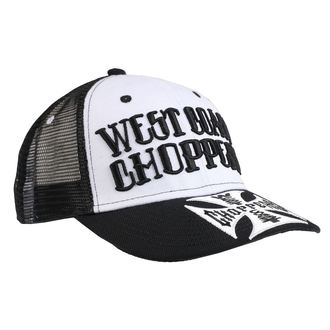 Casquette WEST COAST CHOPPERS - CLUTCH LOGO ROUND BILL - Noir, West Coast Choppers