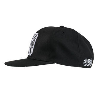 Casquette WEST COAST CHOPPERS - CROSS FLATBILL - NOIR, West Coast Choppers