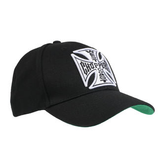 Casquette WEST COAST CHOPPERS - CROSS ROUND BILL - NOIR, West Coast Choppers
