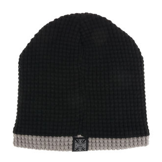Bonnet WEST COAST CHOPPERS - KNITTED - NOIR GRIS, West Coast Choppers