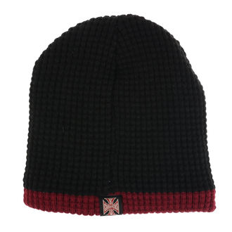 Bonnet WEST COAST CHOPPERS - KNITTED - NOIR BORDEAUX, West Coast Choppers
