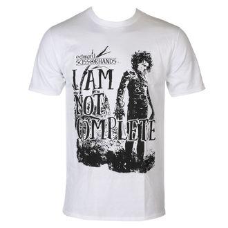 t-shirt de film pour hommes Edward Scissorhands - I Am Not Complete - HYBRIS, HYBRIS, Edward aux mains d'argent