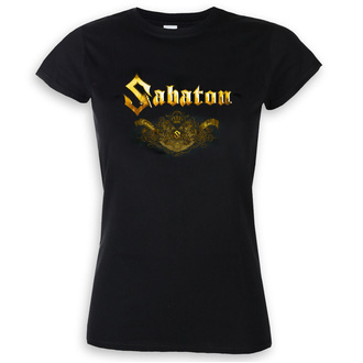 tee-shirt métal pour femmes Sabaton - Carolus rex platin - NUCLEAR BLAST, NUCLEAR BLAST, Sabaton