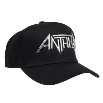 Casquette Anthrax - Sonic Sliver Logo - ROCK OFF, ROCK OFF, Anthrax