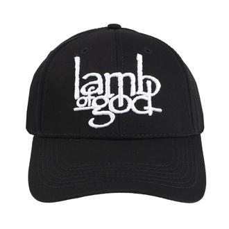 Casquette Lamb Of God - Logo - ROCK OFF, ROCK OFF, Lamb of God