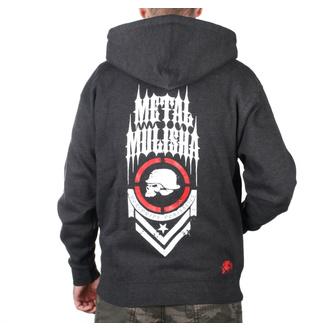 sweat-shirt avec capuche pour hommes - SPINE ZIP UP - METAL MULISHA, METAL MULISHA