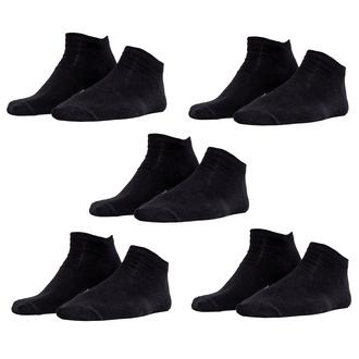 Chaussettes (ensemble de 5 paires) URBAN CLASSICS - Logo No Show - TB2157-black