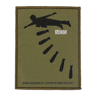 Patch Green Day - Bombs - RAZAMATAZ, RAZAMATAZ, Green Day