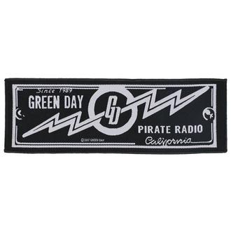 Patch Green Day - Pirate Radio - RAZAMATAZ, RAZAMATAZ, Green Day
