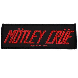 Patch Mötley Crüe - Logo - RAZAMATAZ, RAZAMATAZ, Mötley Crüe