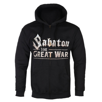 sweat-shirt avec capuche pour hommes Sabaton - The great war - NUCLEAR BLAST, NUCLEAR BLAST, Sabaton