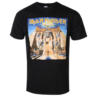 tee-shirt métal pour hommes Iron Maiden - Powerslave - ROCK OFF, ROCK OFF, Iron Maiden