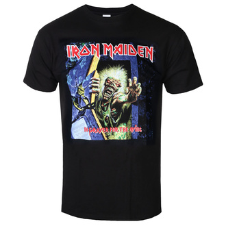 tee-shirt métal pour hommes Iron Maiden - No Prayer For The Dying - ROCK OFF, ROCK OFF, Iron Maiden