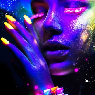 Vernis STAR GAZER - Neon Pink, STAR GAZER