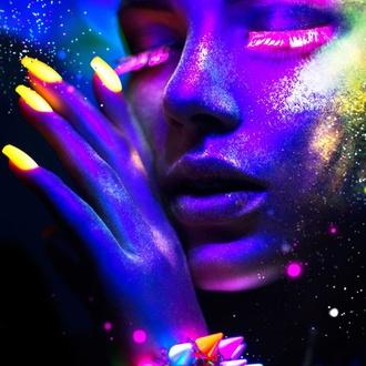 Vernis STAR GAZER - Neon Violet, STAR GAZER
